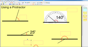 Resource for introducing angles